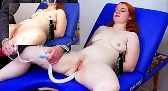 Miss Fi Takes a Fat Enema With the Hard Colon Snake