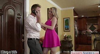 Blonde wife Courtney Cummz ride shaft